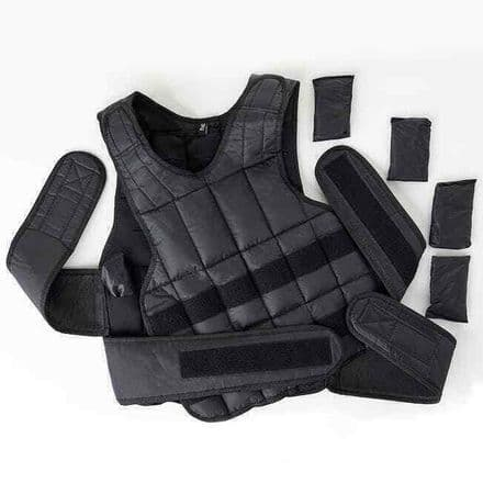Blitz Weighted Vest Strength Training Fitness - 10kg